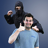 Geoff and the Ninja