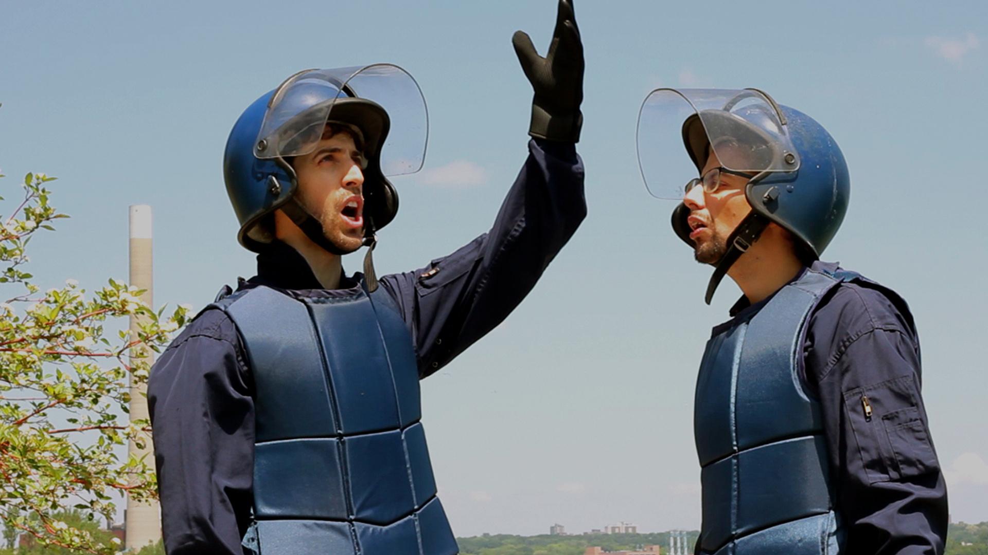 Riot Cop Philosophers