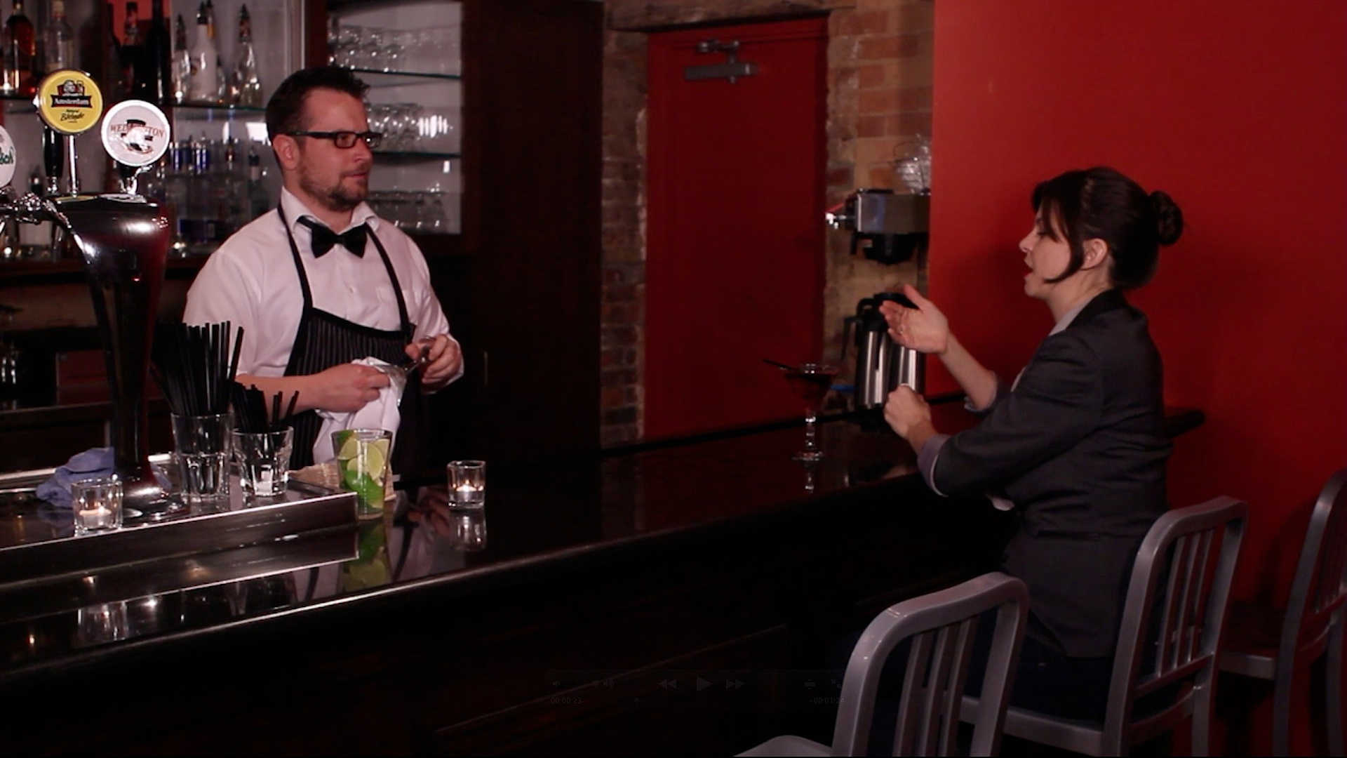 Teaser shoot - THE BAR