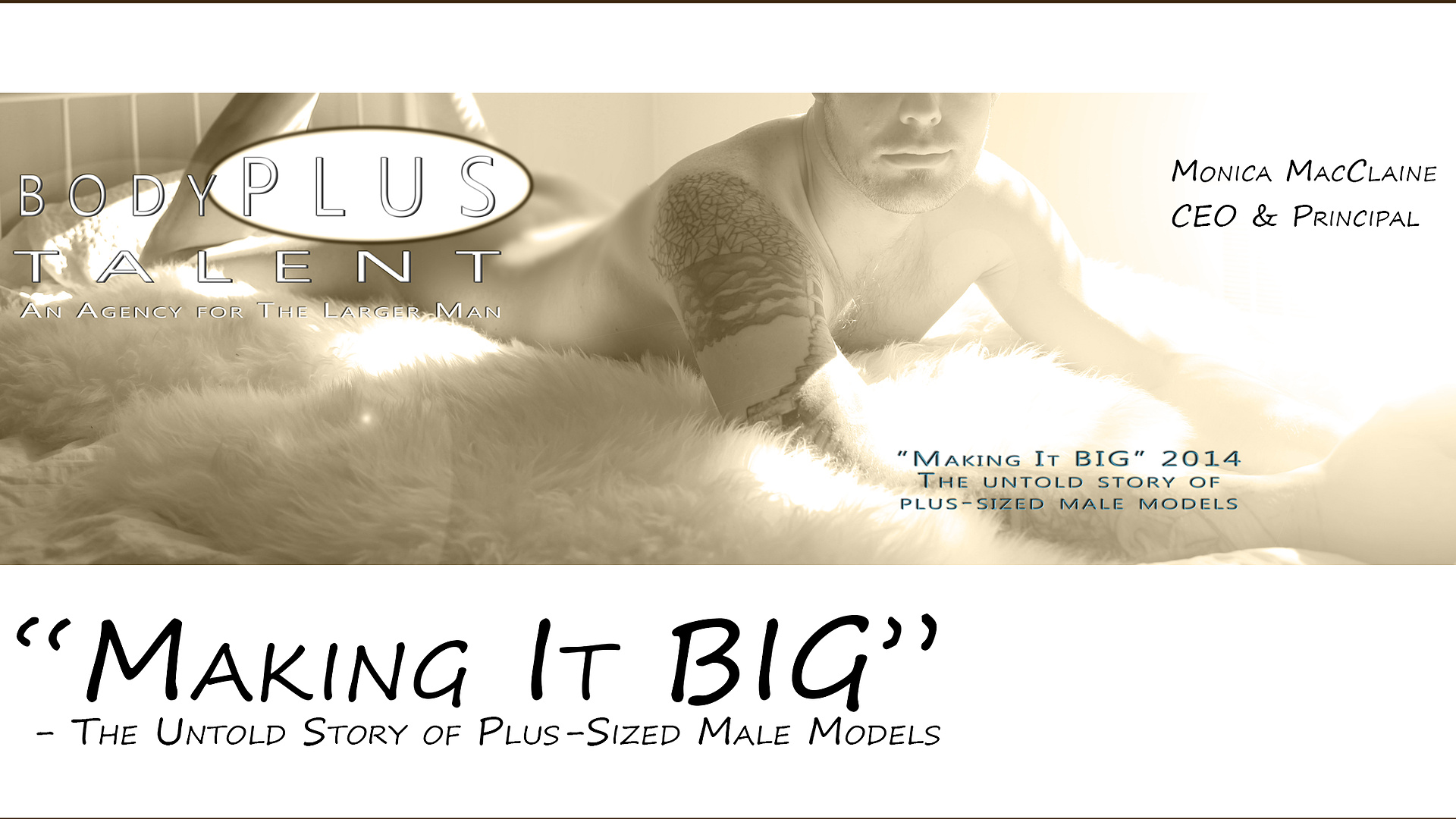 BodyPlus Talent - Plus-sized Male Models