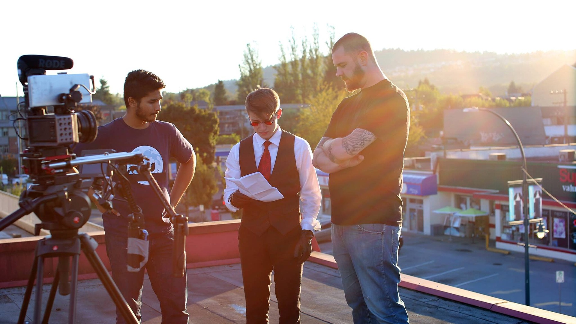 Behind The Scenes - 1