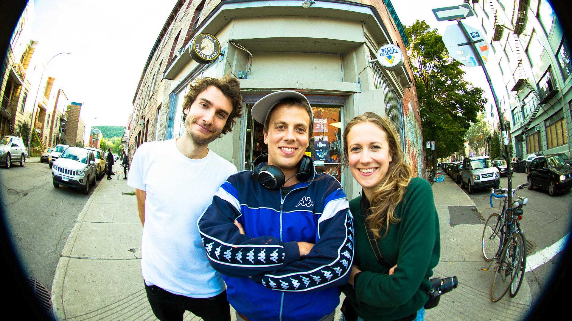 The Power Trio team behind DÉPFLIES