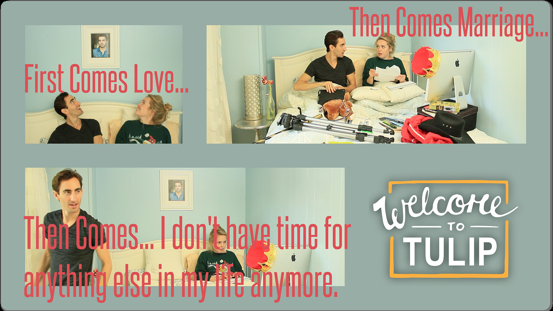 Oh, the life of Tulip's ComedyCoupers