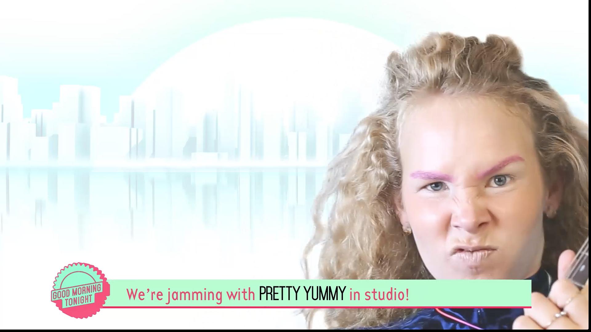 Pretty Yummy Jams with us in Studio!