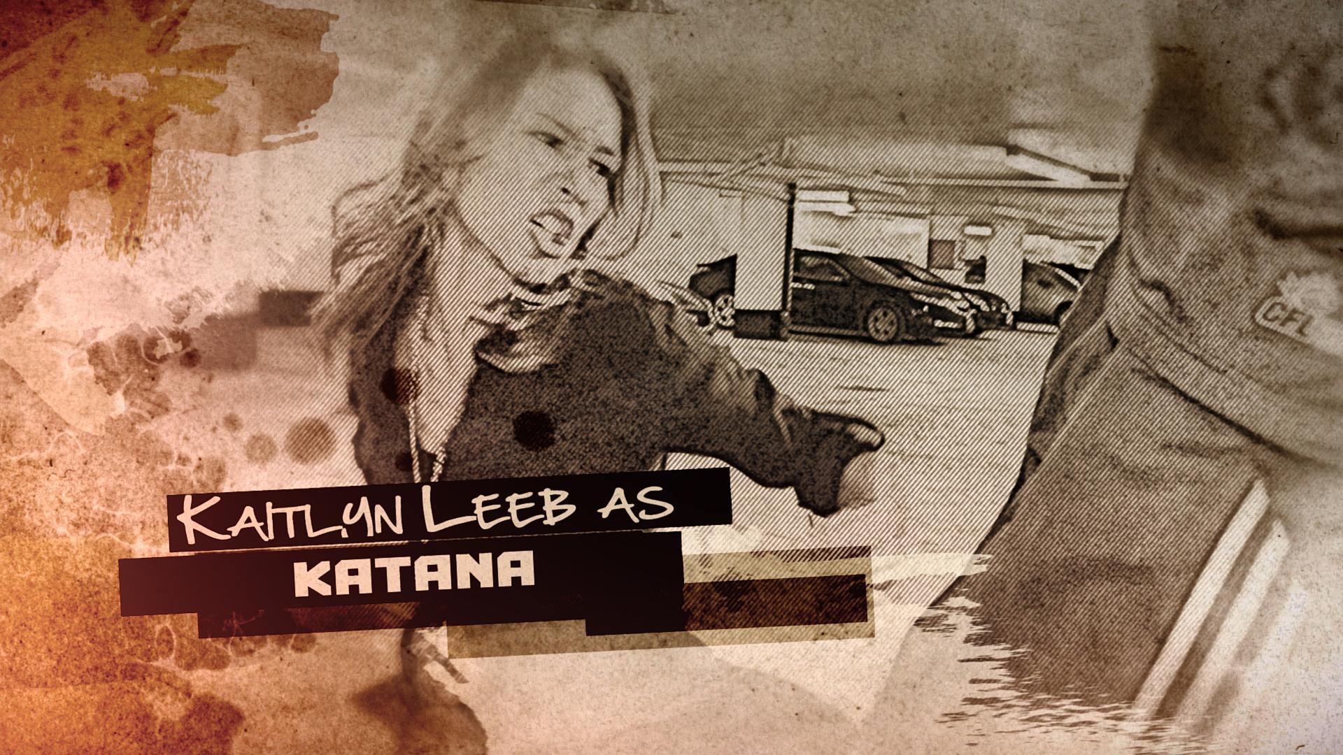 Kaitlyn Leeb as KATANA
