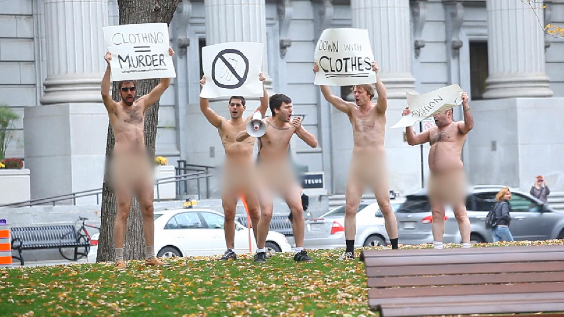 Nudist Riot
