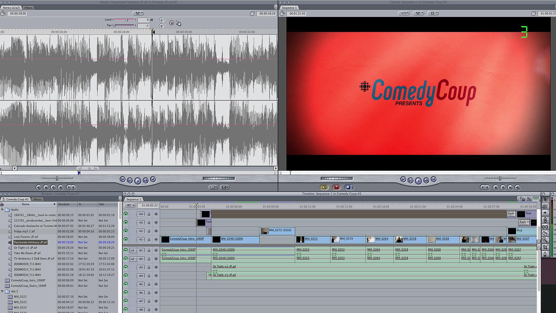 Editing and editing and editing
