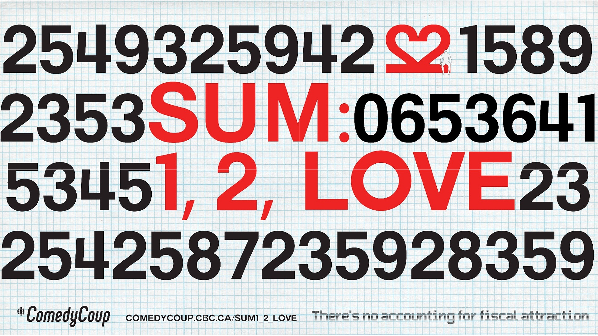Week 4 Key It: Poster B Sum: 1, 2, Love