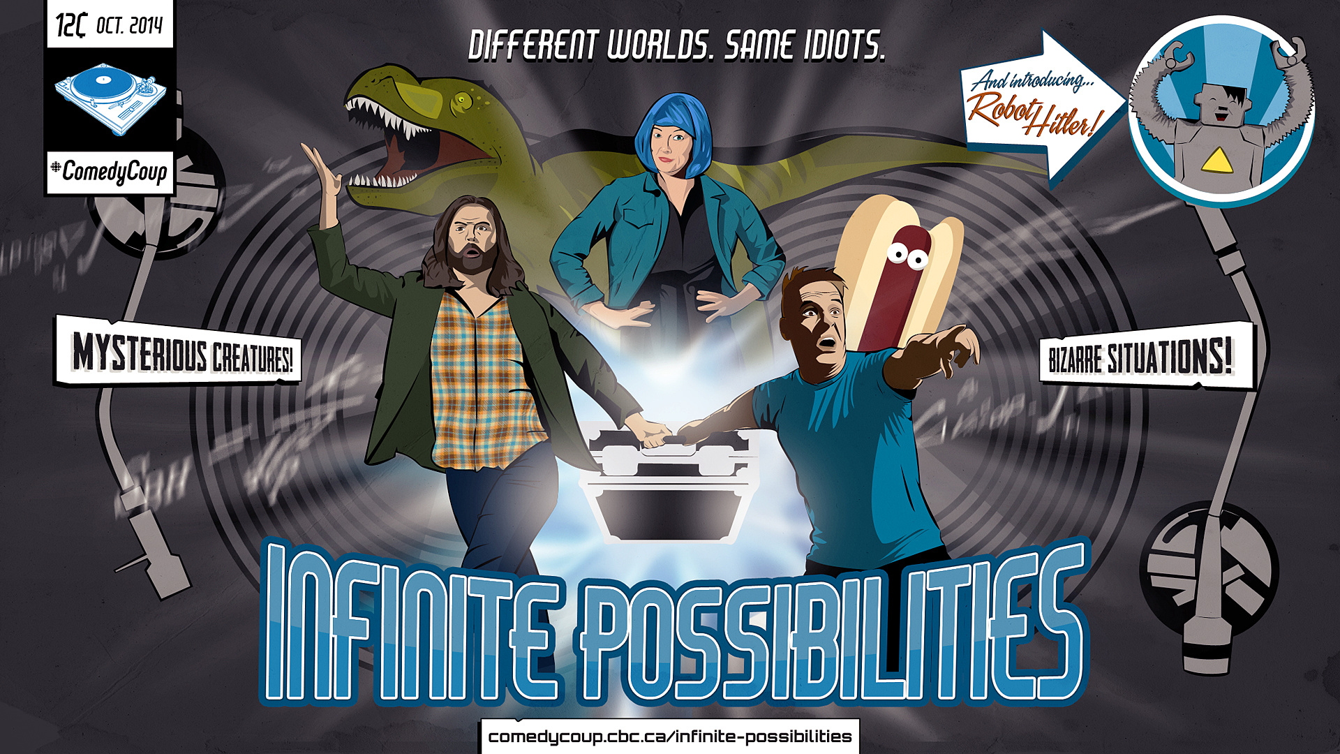 Week 4 Key It: Poster B Infinite Possibilities