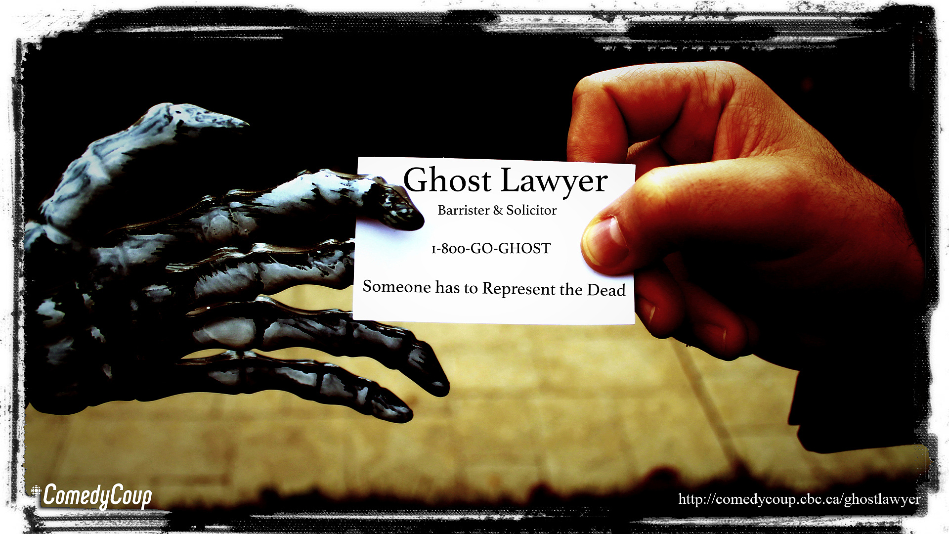 Week 4 Key It: Poster B Ghost Lawyer