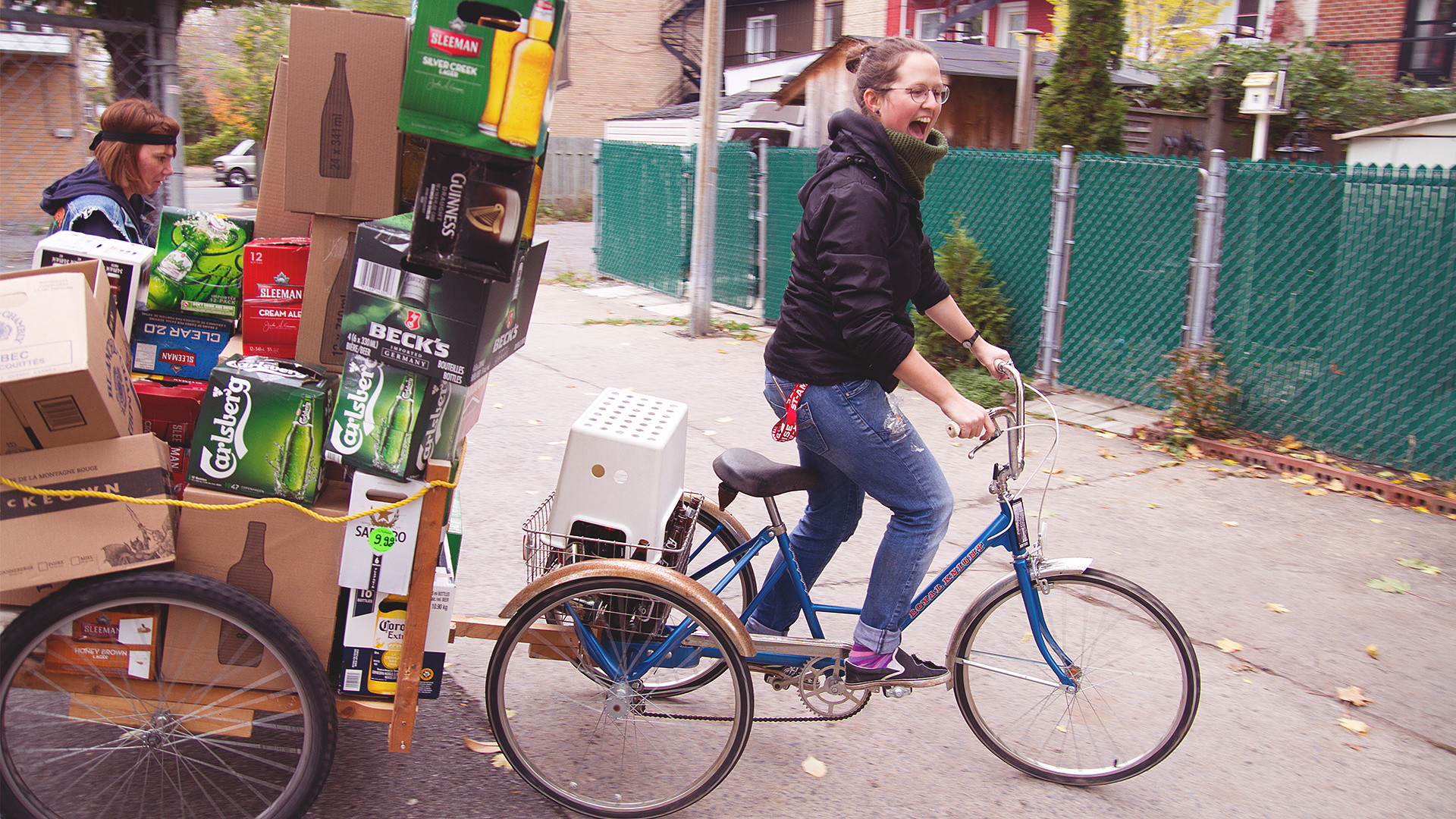 Creating the delivery bike
