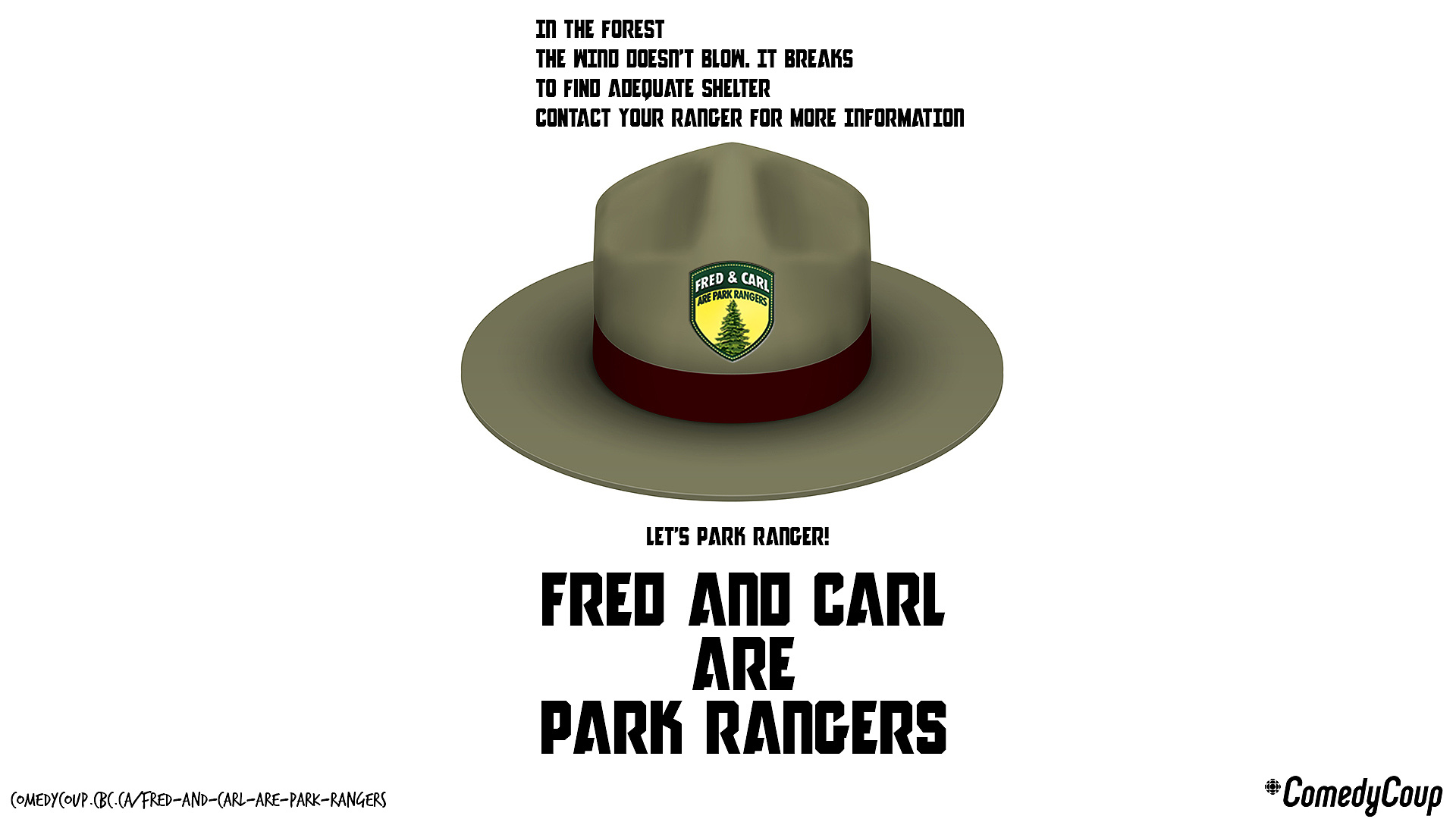 Week 4 Key It: Poster B Fred And Carl Are Park Rangers