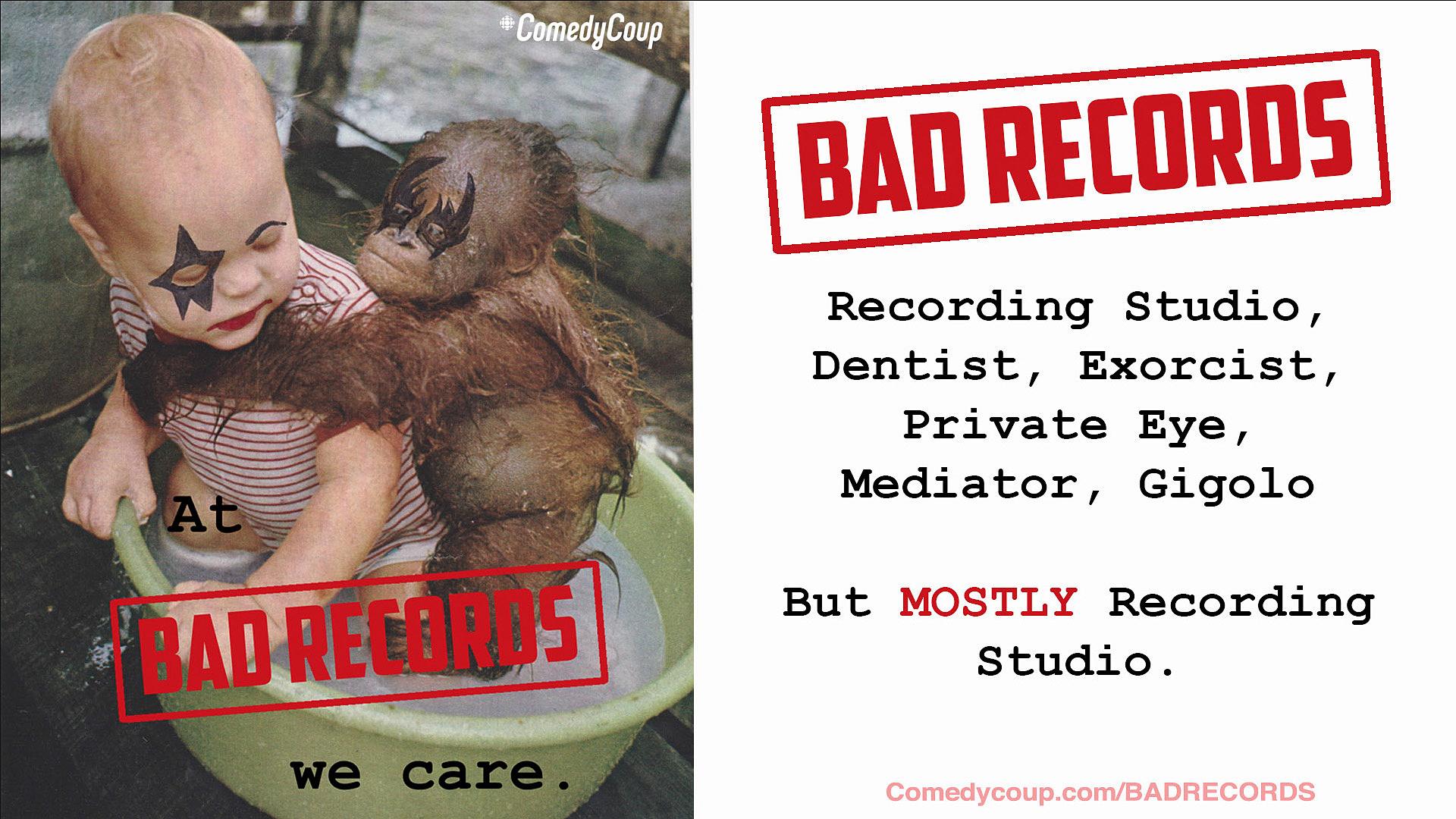 Week 4 Key It: Poster B Bad Records