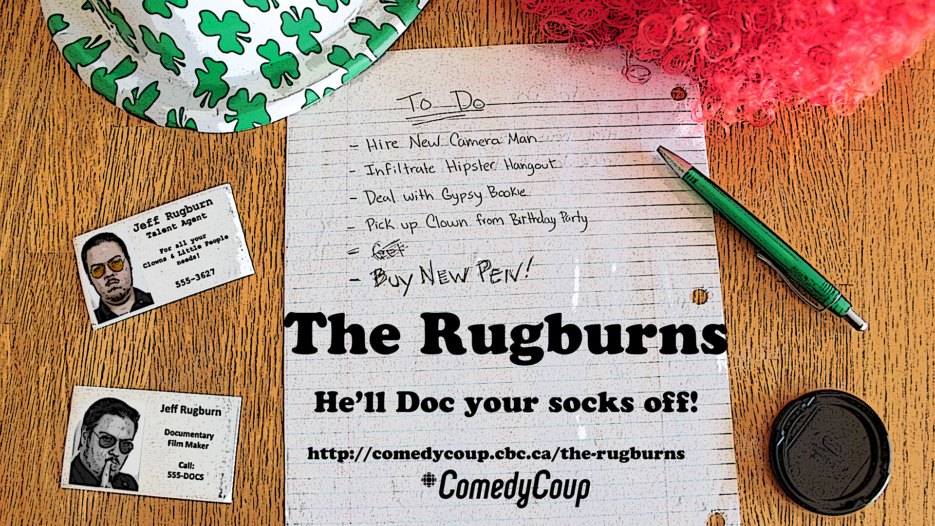 Week 4 Key It: Poster A The Rugburns