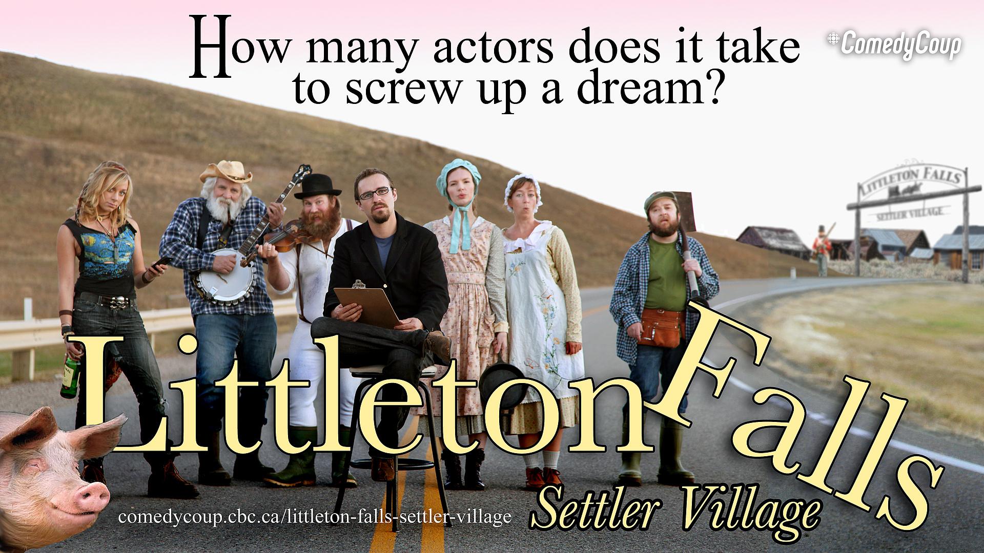 Week 4 Key It: Poster B Littleton Falls Settler Village