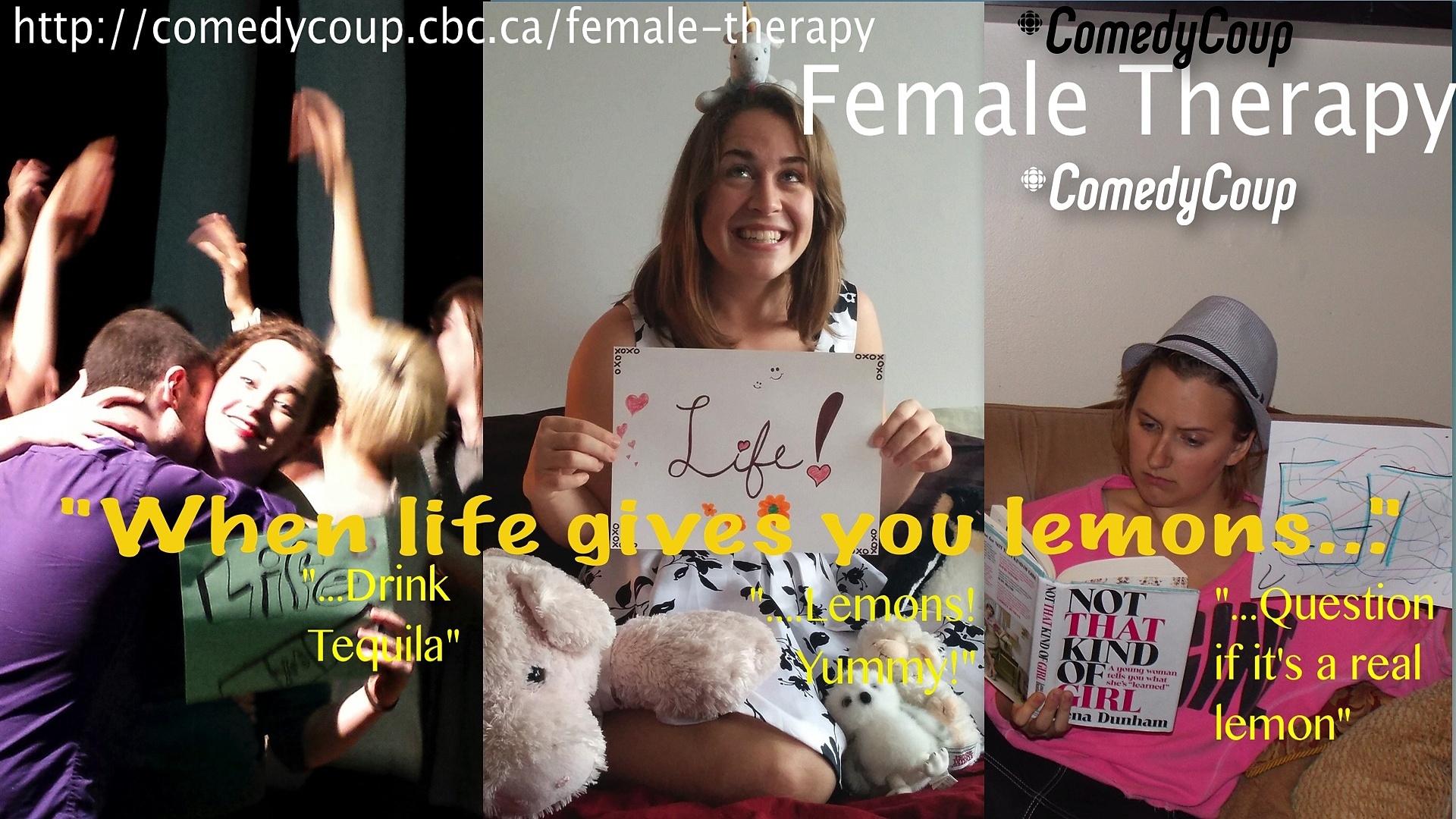 Week 4 Key It: Poster A Female Therapy