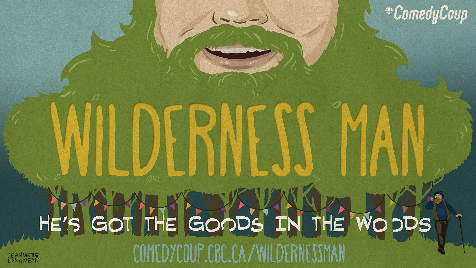 Week 4 Key It: Poster B Graham Clark: Wilderness Man