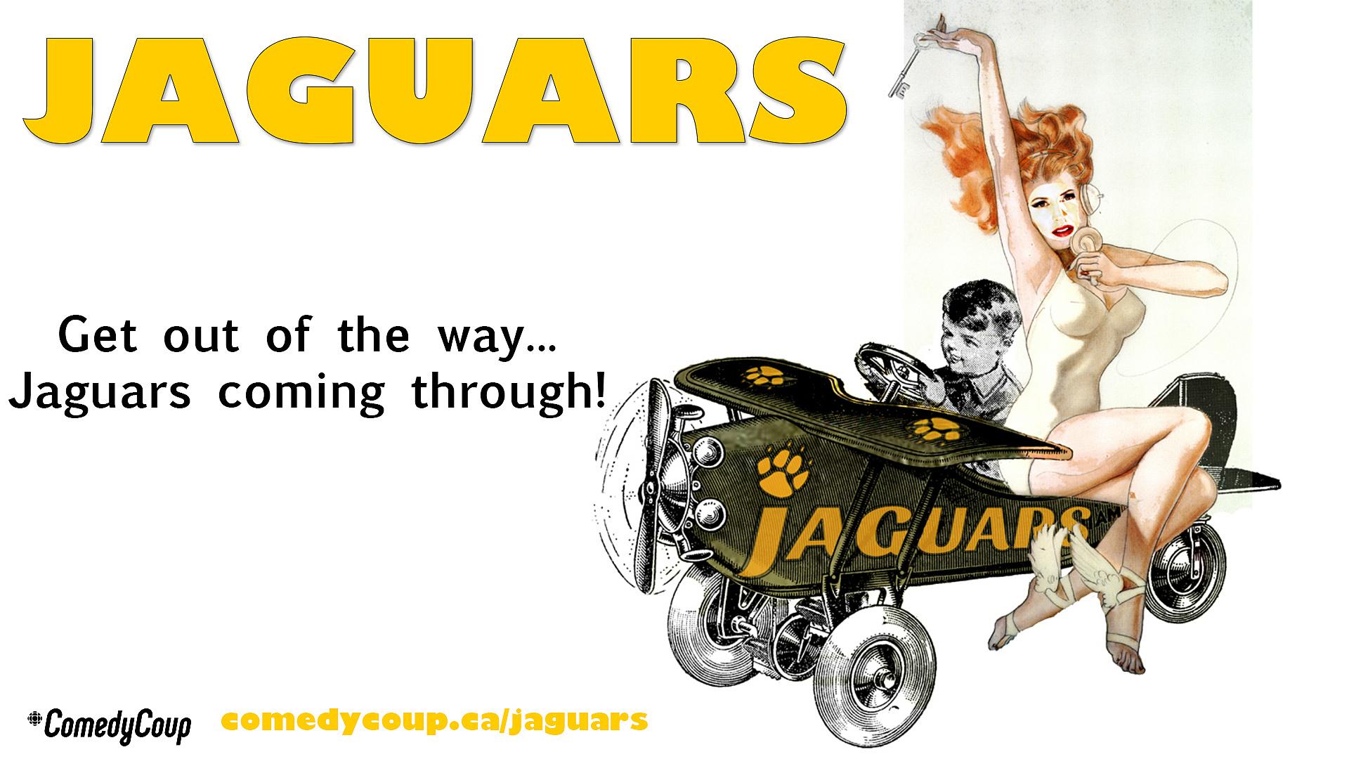 Week 4 Key It: Poster B Jaguars