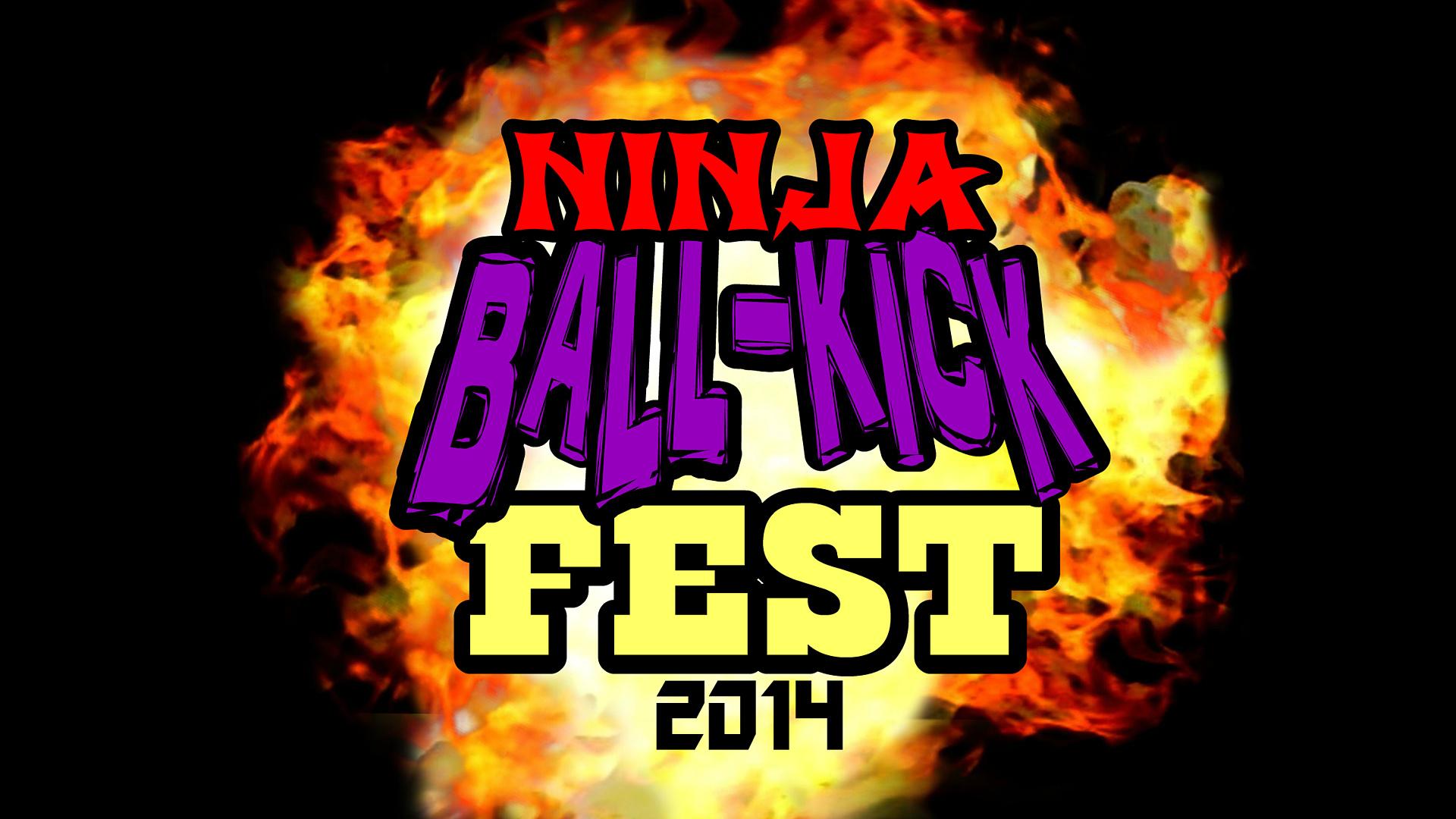 Ninja Ball-Kick Fest 2014