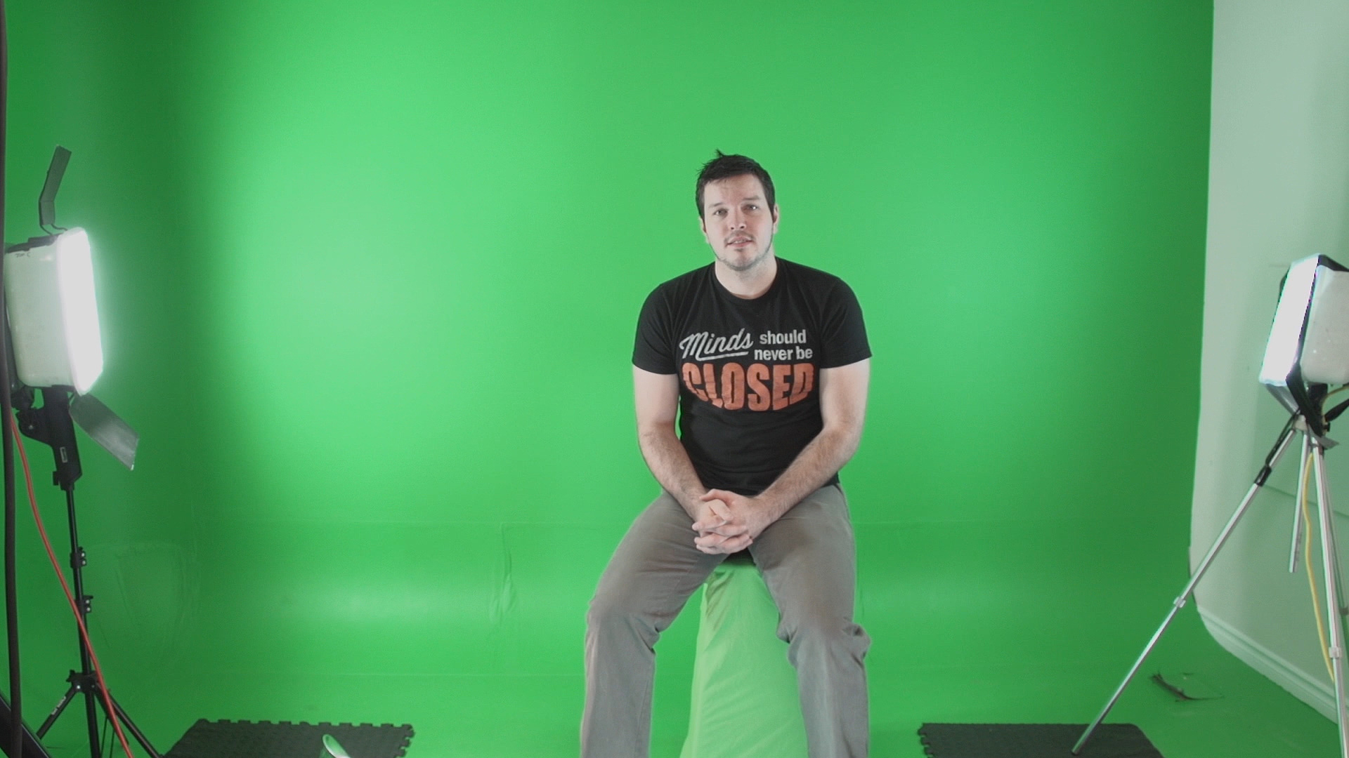 C I Green Screen Sitting