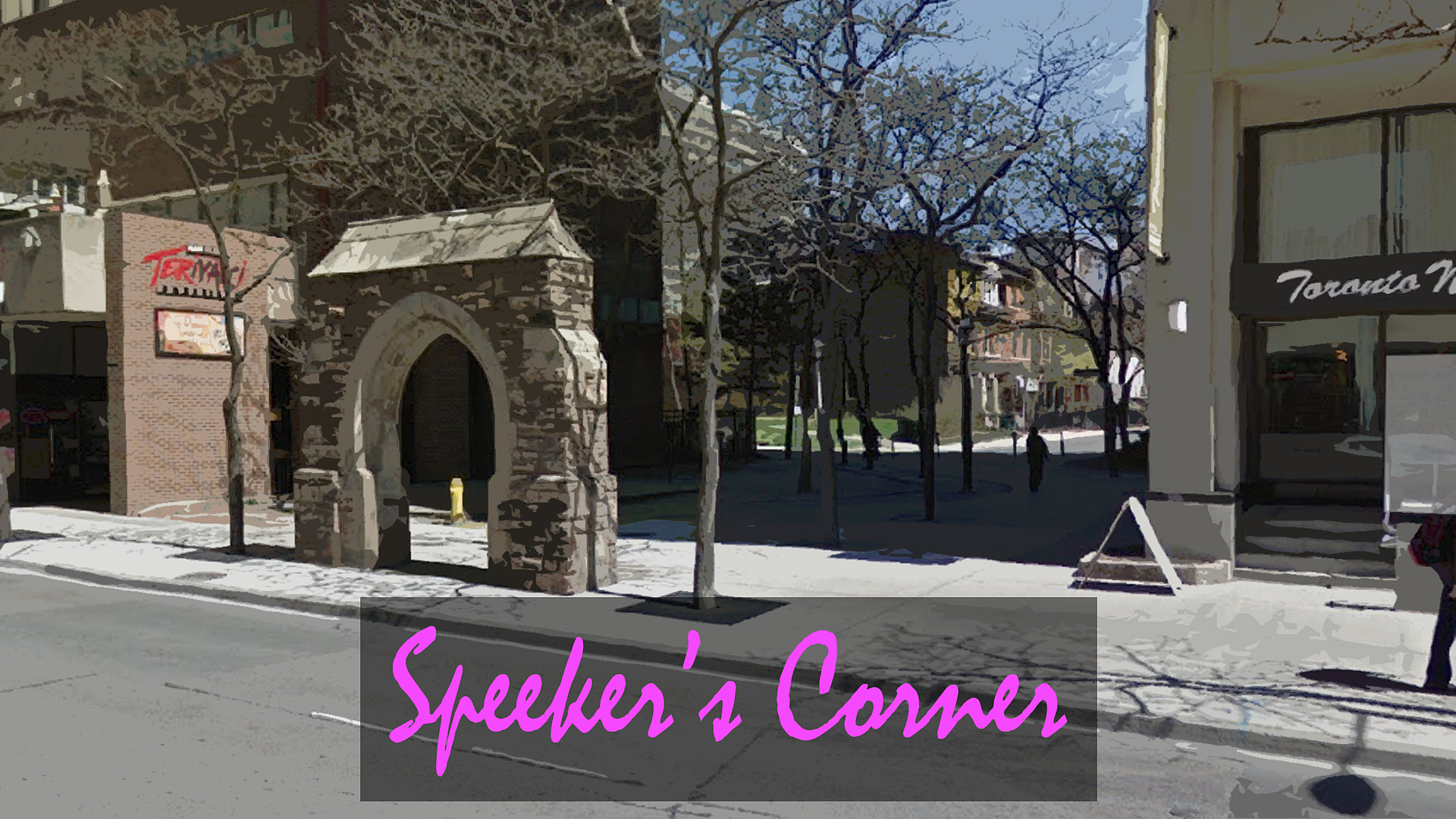 Friday: Speeker's Corner