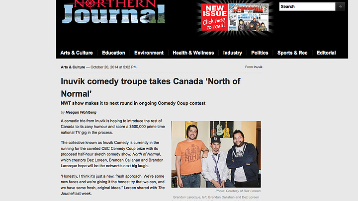 Northern Journal October 20 2014