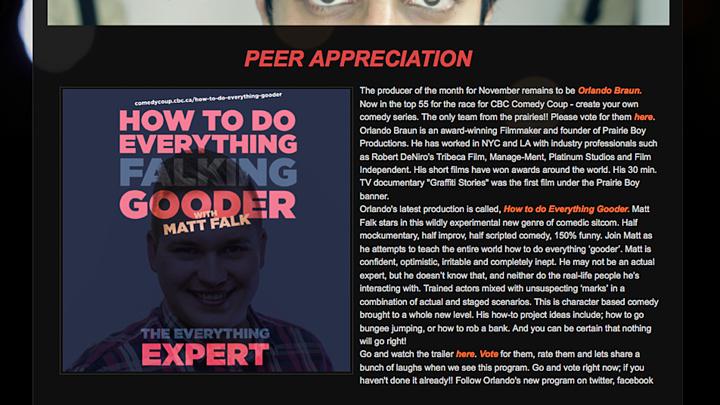 Peer Appreciation article - Nov1