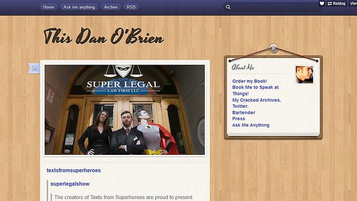 Dan O'Brien Supports Super Legal