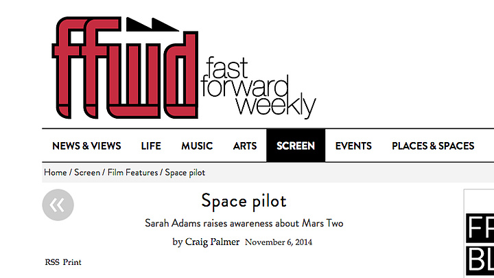 'Space Pilot' by FFWD Weekly