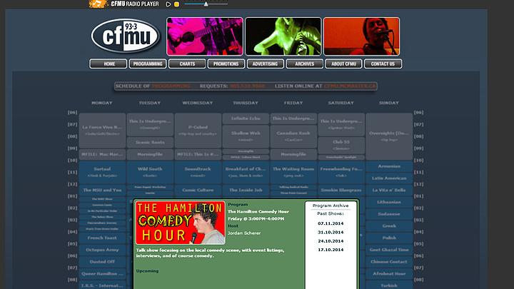 93.3 CFMU Radio
