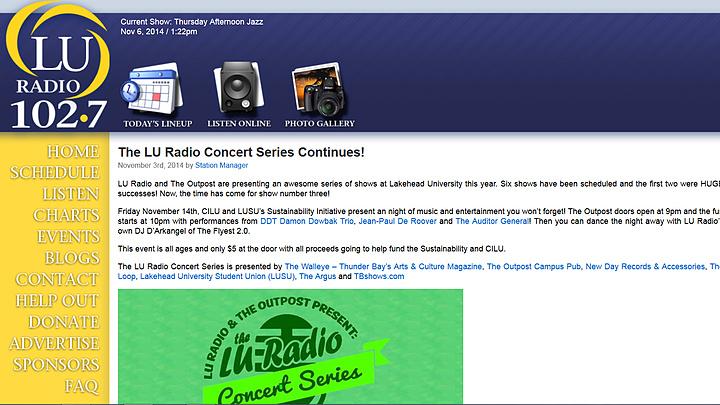 102.7 LU Radio