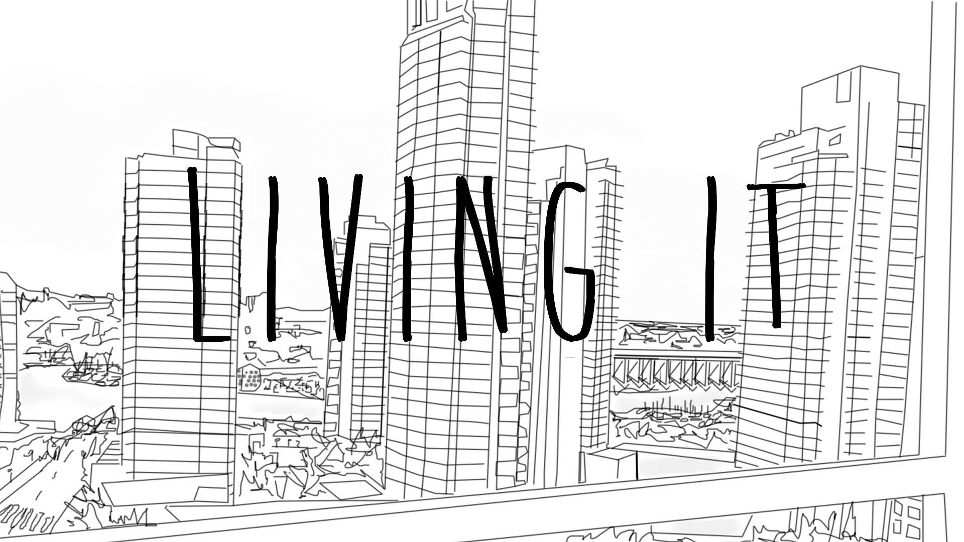 Living It intro sequence 5