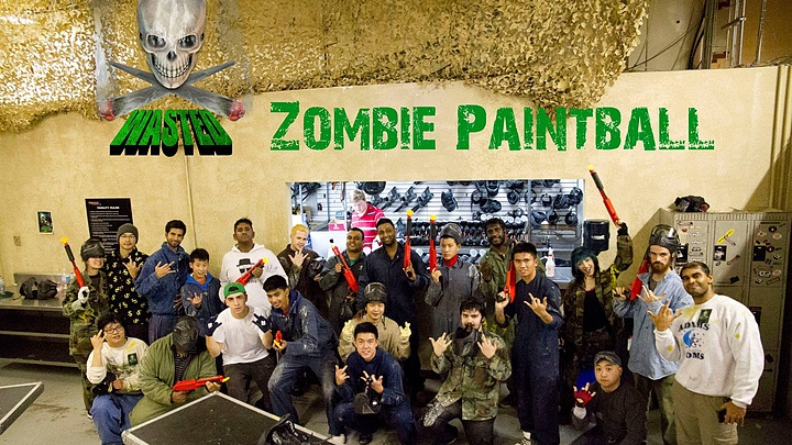 Wasted: Zombie Paintball Event