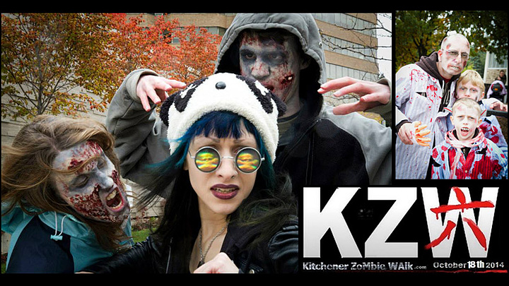 Kitchener Zombie Walk 2014