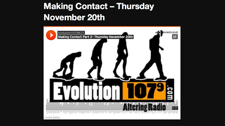 Evolution 107.9 Interview